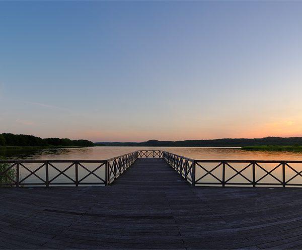 Panoramen >Rügen >Binz > Schmachtensee >Abendsstimmung