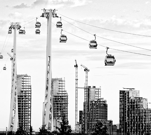 Stadtansichten >London 2018 #02 >Emerates Air Line (Seilbahn) #01